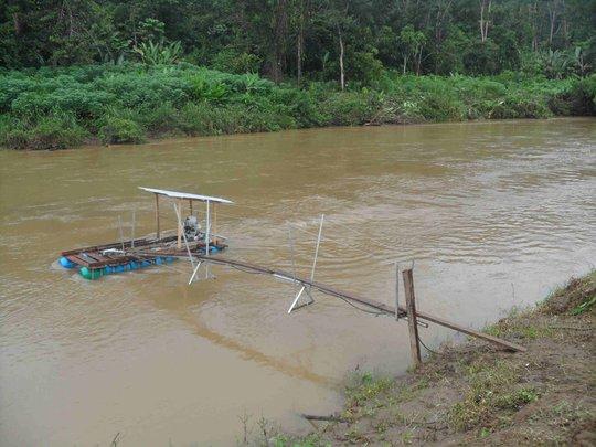 River Turbine in Colombia