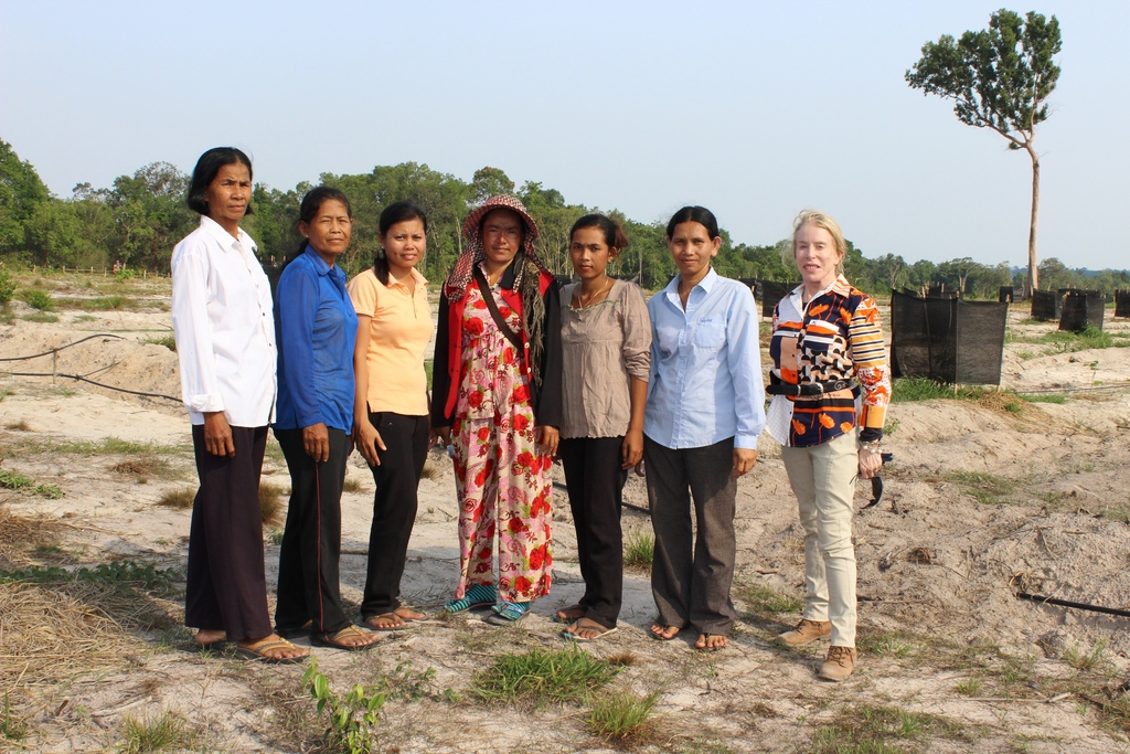 Women leaders of the Agriculture Association