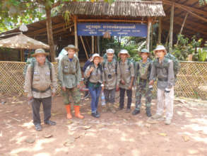 Community Anti Poaching Unit before a patrol