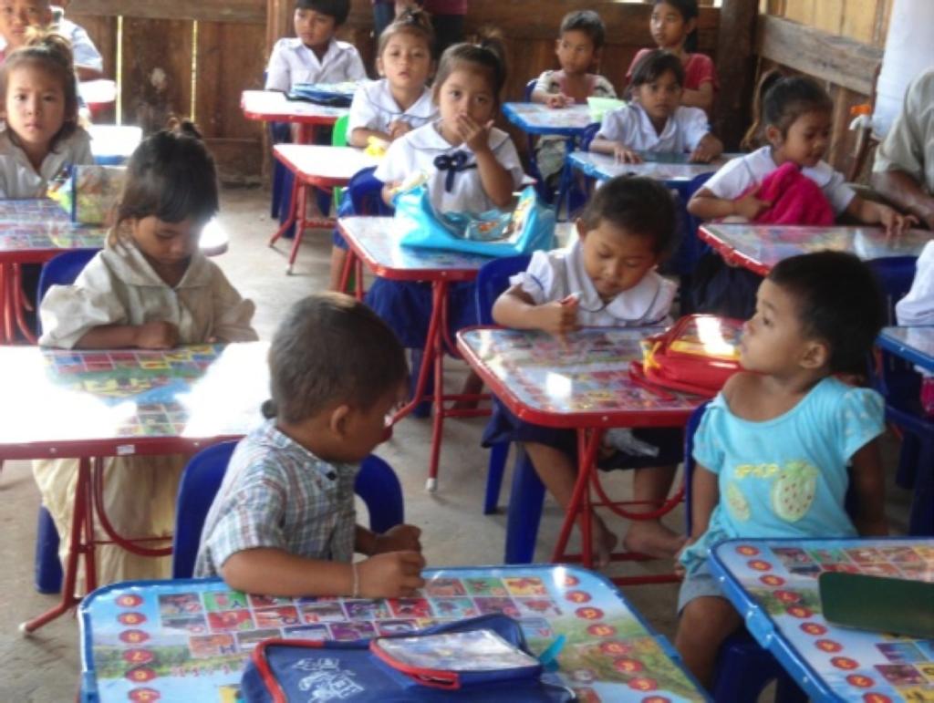 Pre-school in Sovanna Baitong