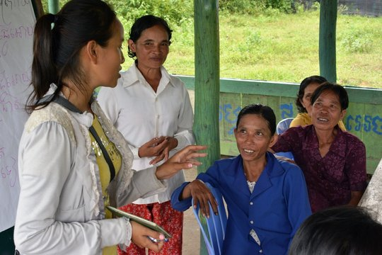 Meeting at the Women's Committee
