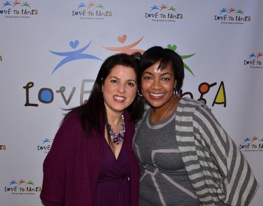Amy Ostroff and Love to Langa VP, Carmen Lennon