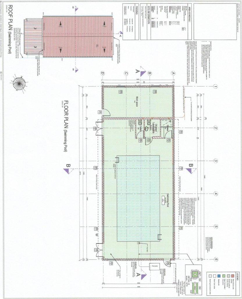 Pool drawing