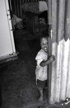 Tyron in his doorway