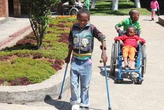 Polio Rehab Center