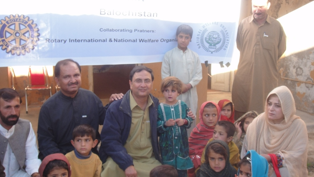 Polio Resource Centers in Pakistan