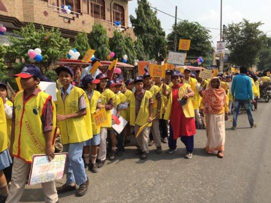 immunization activities in India
