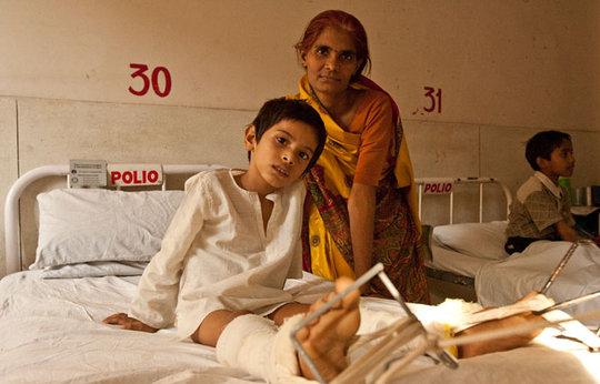 Polio survivor, mom at Rotary