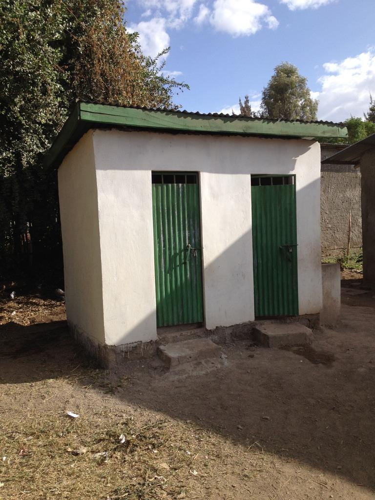 Shash funded toilets