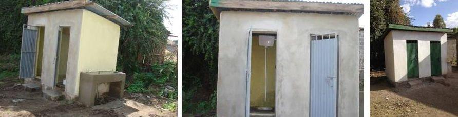 New KG toilets