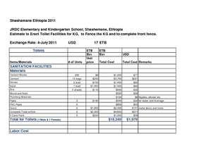 JRDC 2011 Budget Estimate (PDF)