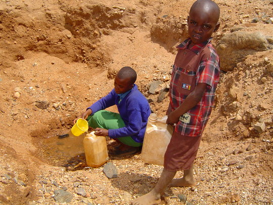 Clean Water is Scarce
