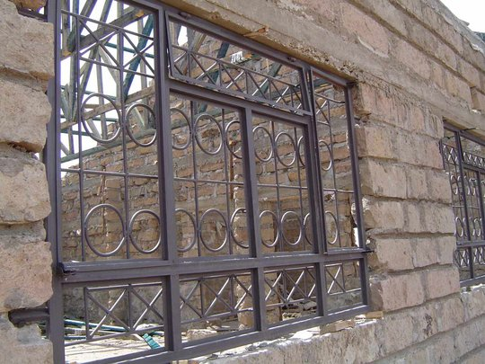 An installed window