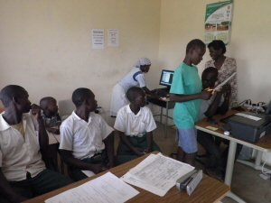 Classes at the Distance Learning Center
