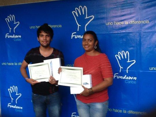 Handframe audiovisual call winners