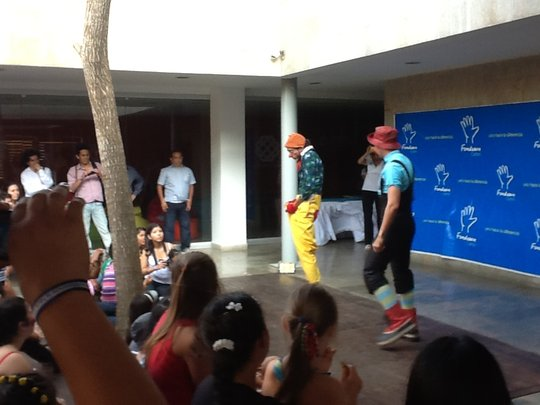 Clown sketch - Cultural Performance Day