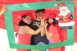 Cabina fotografica de navidad