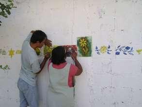 Art Workshop in Puerto Colombia