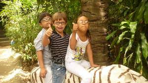 Having fun at the Zoo!