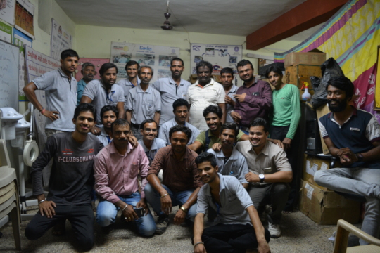 Farewell of Nirman Batch