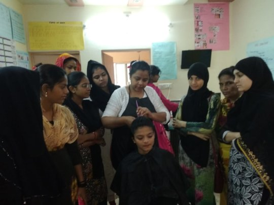 HairStyling Session