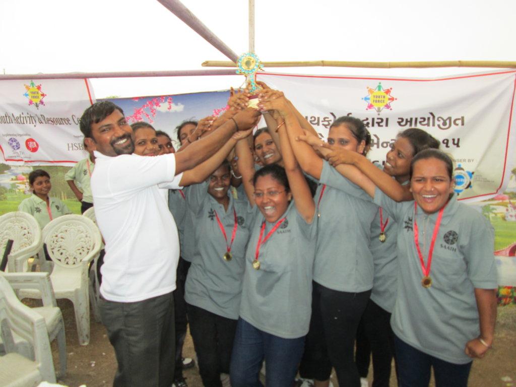 Winner...Women Cricket Tournament