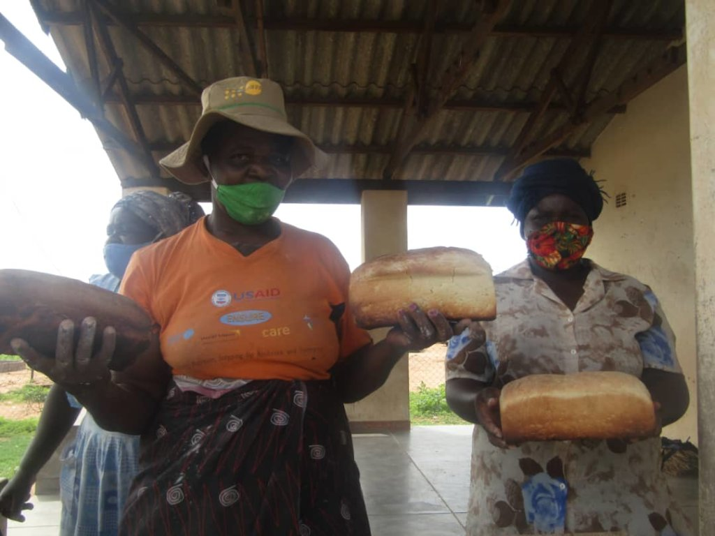 Women Who Participate in the Bakery Project