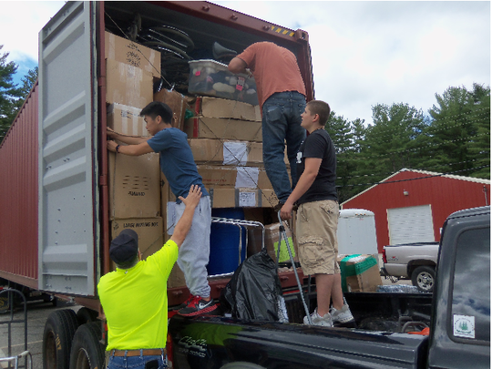 Shipment of much needed items sent to Zimbabwe