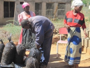 Women Participating In Mushroom Project