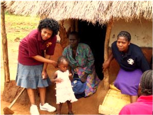 Tendai - beneficiary of Mushroom Project
