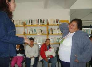 One of the workshops participants in this program