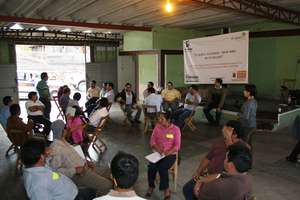 Training workshop with teachers