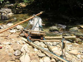 Building the microhydro power