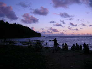 Dawn at Rapu-rapu Island