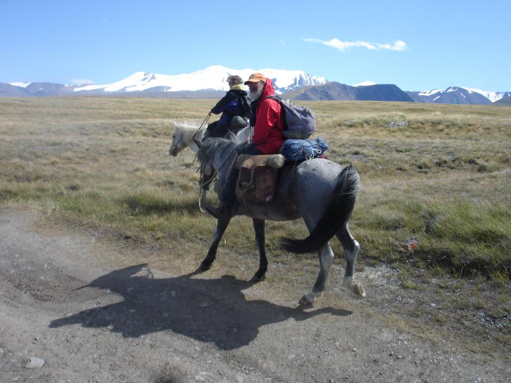 on the Ukok Plateau