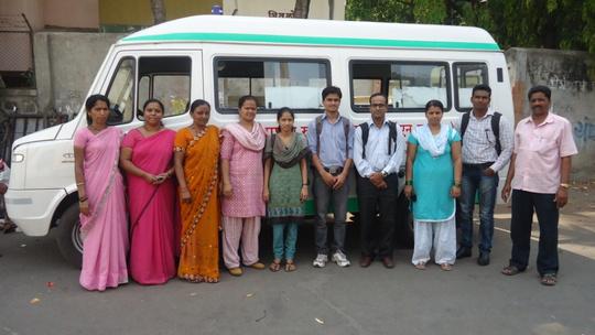 The organising Team- Medical Camp