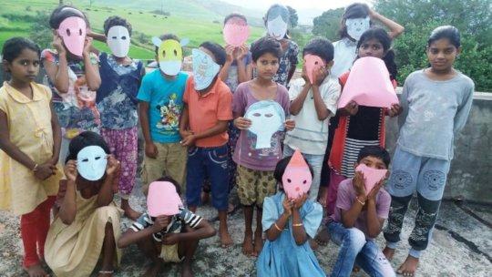 Mask making activity