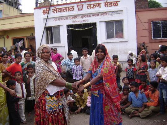 New Slum- Tribal Community