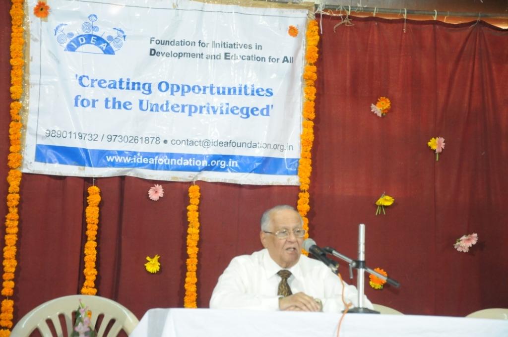 Talk on role of parents & teachers