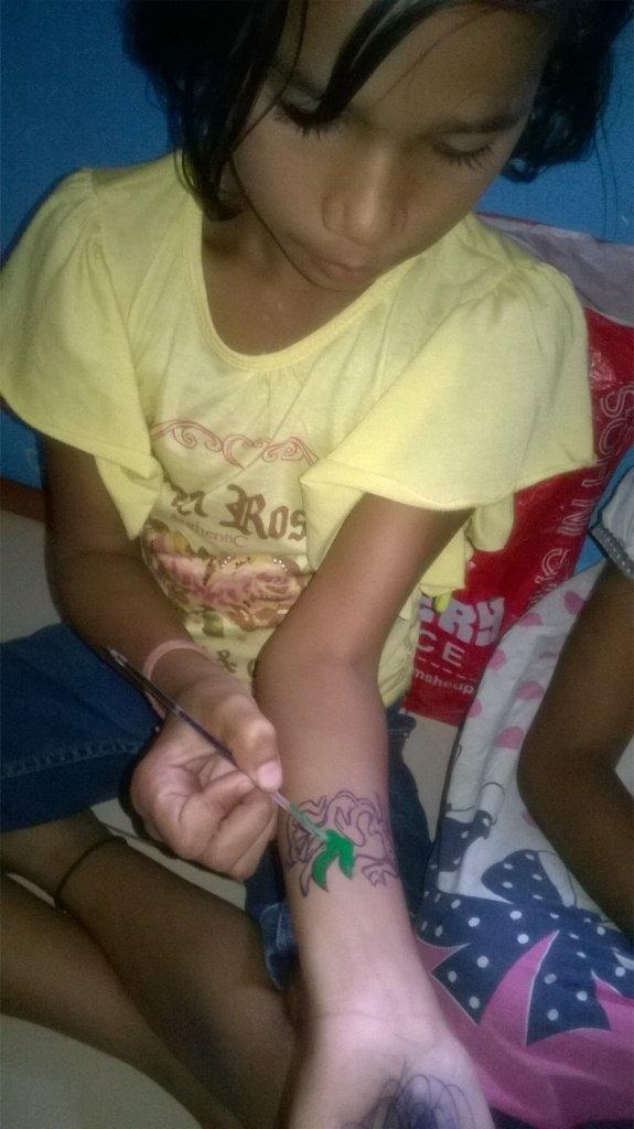 Tatoo making