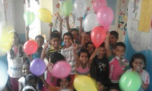 Children celebrating IDEA's Birthday!!