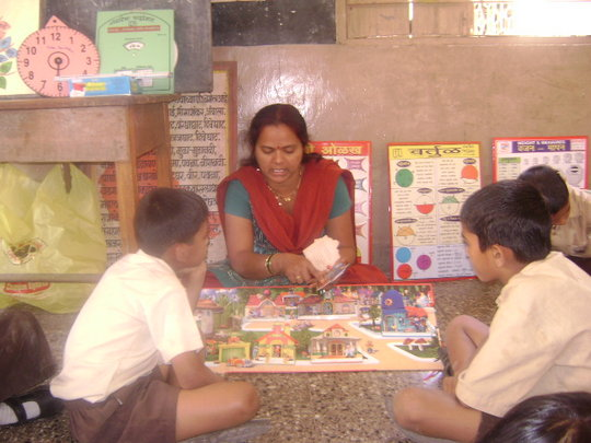 Use of teaching aids- IDEA Centre activities
