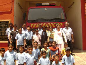 Visit to a fire station