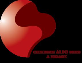 Child helmet campaign helmet/heart logo