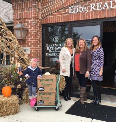 BHHS Elite Realtors Food Drive