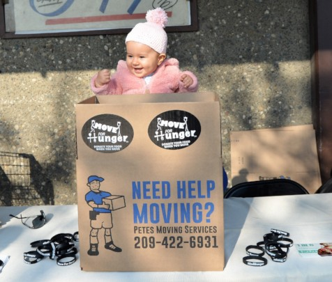 You're never too young to hold a food drive!
