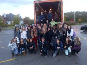 Abbey Park High School Students Fight Hunger
