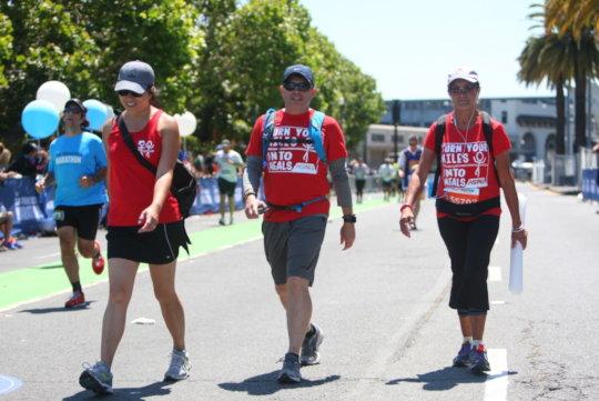 Team Move For Hunger at the San Fran 1/2 Marathon