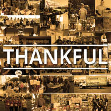 We are thankful for YOU - the everyday people help