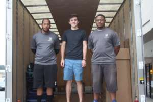 Our generous movers lend a hand to help Trey